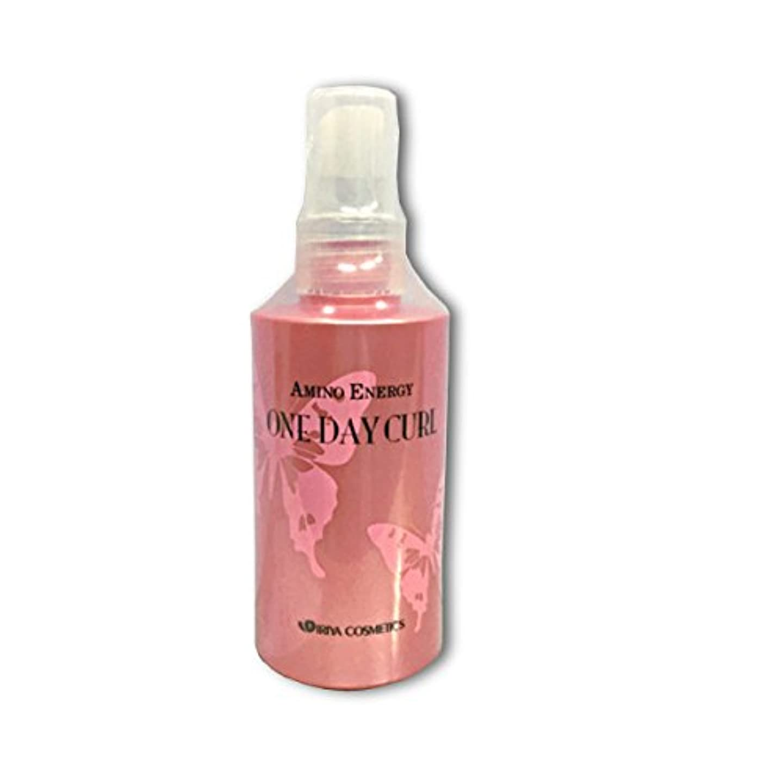 振りかけるドールカラスイリヤ化学 アミノエナジー ワンデイカール カーリングL(ピンク) 容量150ml