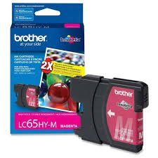 Brother純正ブランド名、OEM lc65hym ( lc-65hym )高イールドマゼンタインクジェットカートリッジ( 750Yld ) for dcp-383C、dcp-6690cw、mfc-5890cn、mfc-6490cn、mfc-6490cw、mfc-6890cdwプリンタ