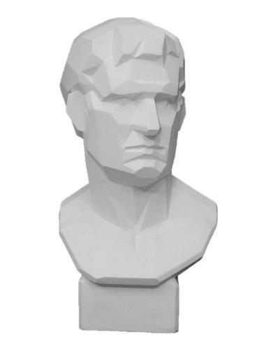 石膏像 K?163 アグリッパ胸像(角) H.58cm