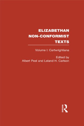 Elizabethan Non-Conformist Texts (Routledge Library Editions)