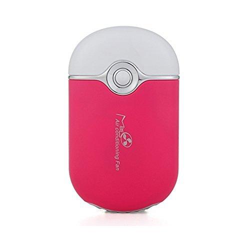 YB USBミニファン 扇風機 まつ毛エクステ用  ピンク 14148381...
