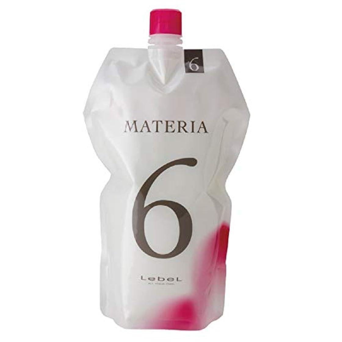 悪化させる確立無一文ルベル マテリア オキシW 1000ml 6% 【ヘアカラー2剤】【業務用】【医薬部外品】