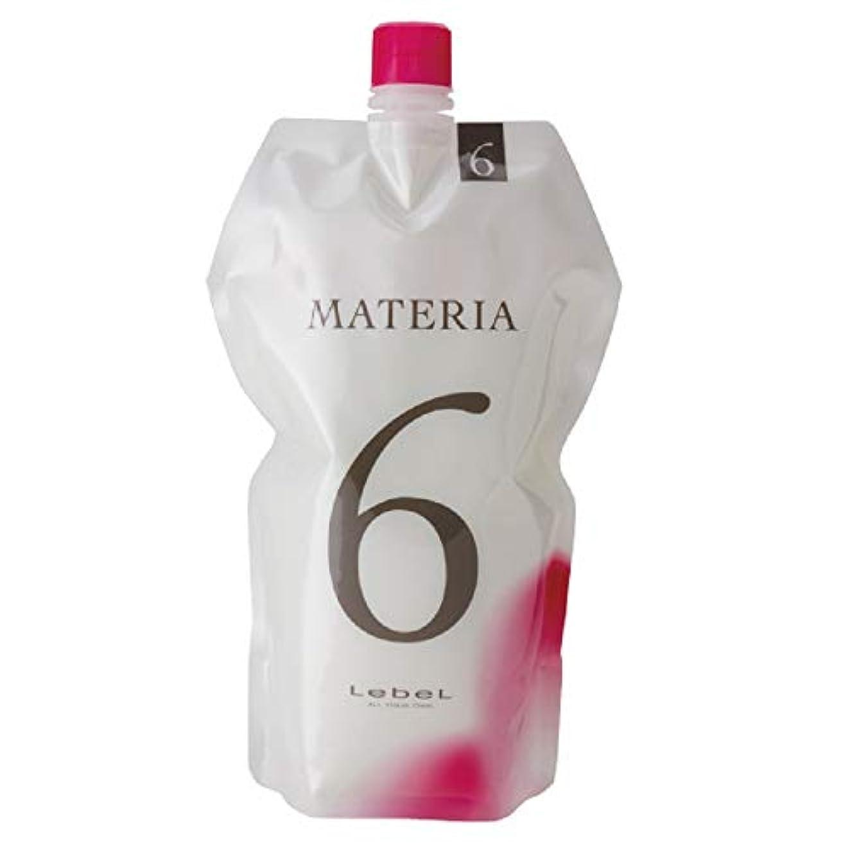 ルベル マテリア オキシW 1000ml 6% 【ヘアカラー2剤】【業務用】【医薬部外品】