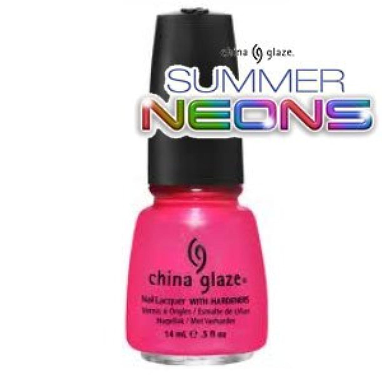 星海外くしゃくしゃ(チャイナグレイズ)China Glaze Love's A Beachーサマーネオン コレクション [海外直送品][並行輸入品]