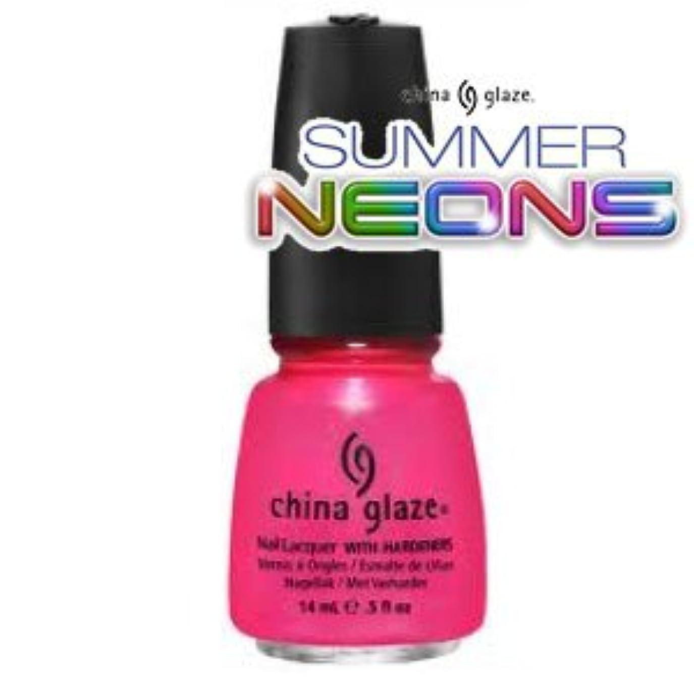 骨の折れる咲く説明的(チャイナグレイズ)China Glaze Love's A Beachーサマーネオン コレクション [海外直送品][並行輸入品]