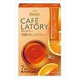 AGF ブレンディ カフェラトリー スティック 芳醇オレンジティー 7本 ×6個 粉末
