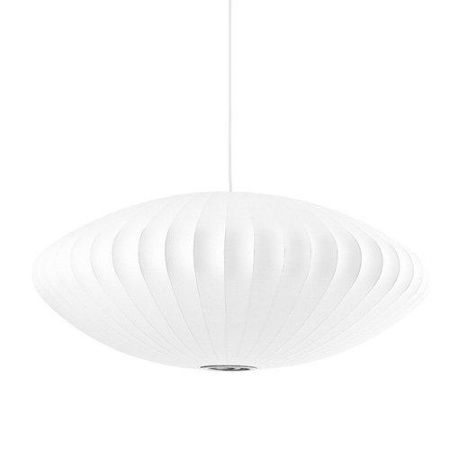 【米国・Herman Miller社正規品】【受注生産】 George Nelson Bubble Lamp Pendant Saucer ジョージネルソン バブルランプ ペンダント ソーサー (Lサイズ)