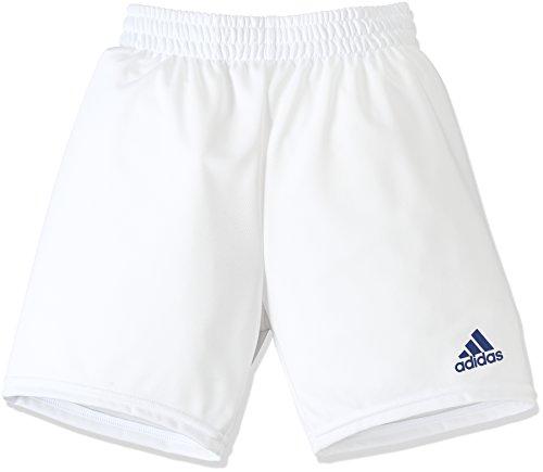 (アディダス)adidas サッカーウェア BASIC ゲームショーツ(ロング) MMQ86 [ジュニア] MMQ86 BQ0683 ホワイト/ロイヤル J130