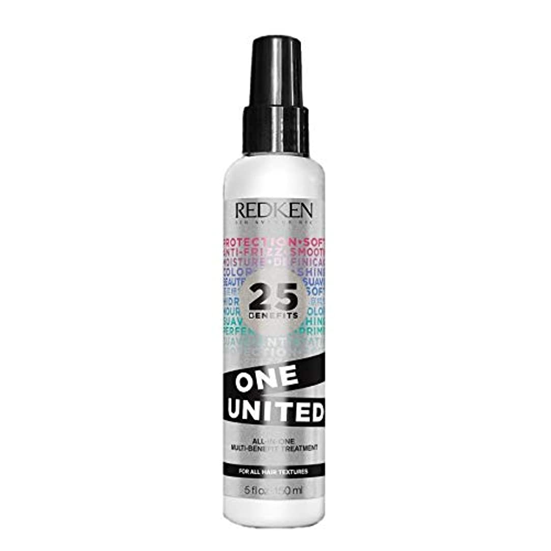 地区平等楽しませるRedken Unisex One United Multi Benefit Hair Treatment, 5 Ounce by Redken