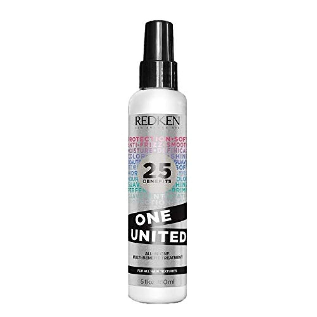 ケープ統合する湿気の多いRedken Unisex One United Multi Benefit Hair Treatment, 5 Ounce by Redken