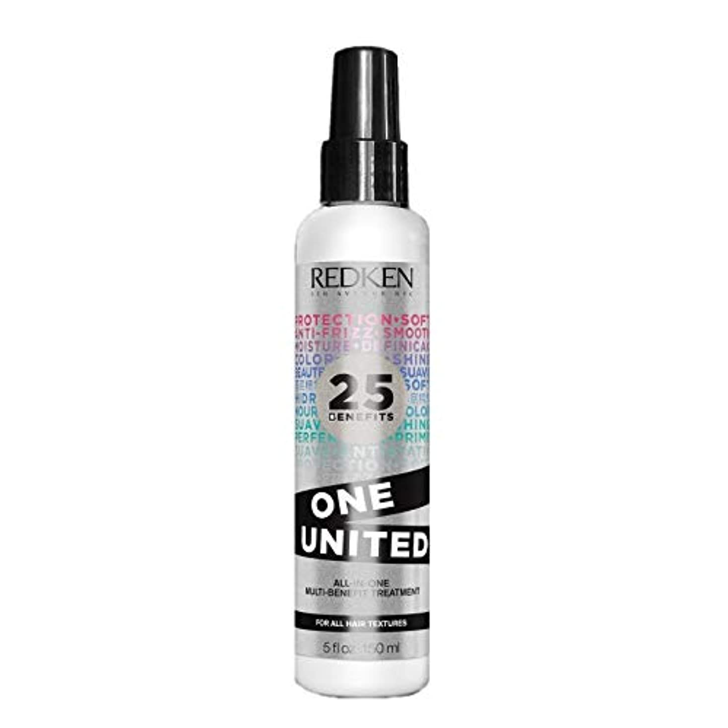 運搬社交的贅沢Redken Unisex One United Multi Benefit Hair Treatment, 5 Ounce by Redken