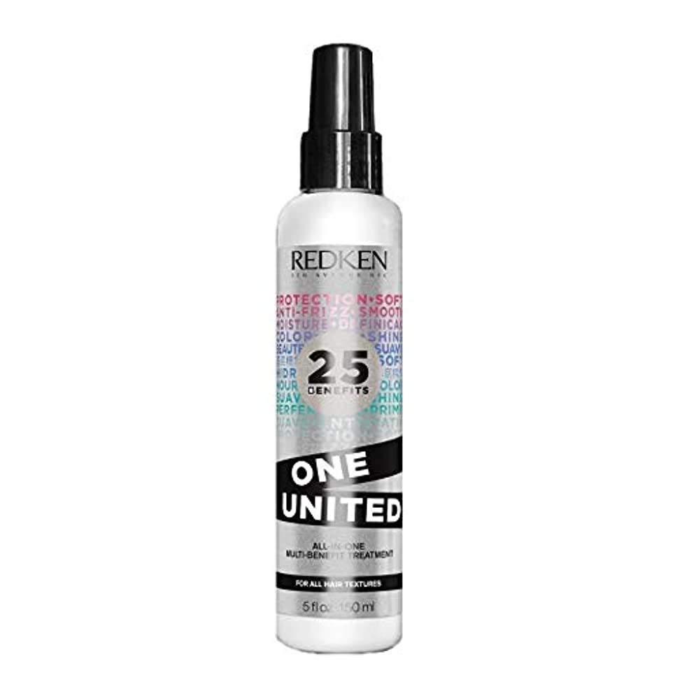 流行消える神学校Redken Unisex One United Multi Benefit Hair Treatment, 5 Ounce by Redken