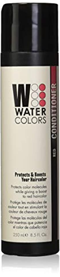明日者ほとんどないWatercolors Boost Conditioner - Red