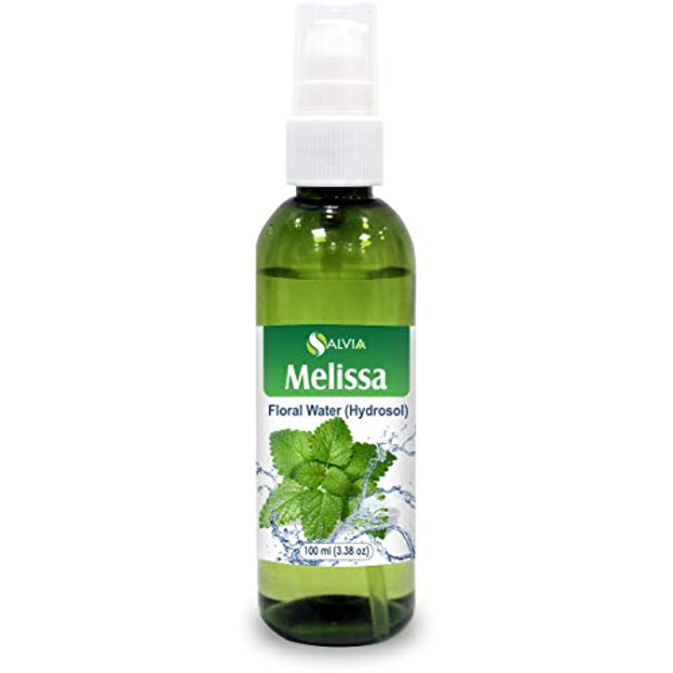 サミュエル作業複雑でないMelissa (Lemon Balm) Floral Water 100ml (Hydrosol) 100% Pure And Natural