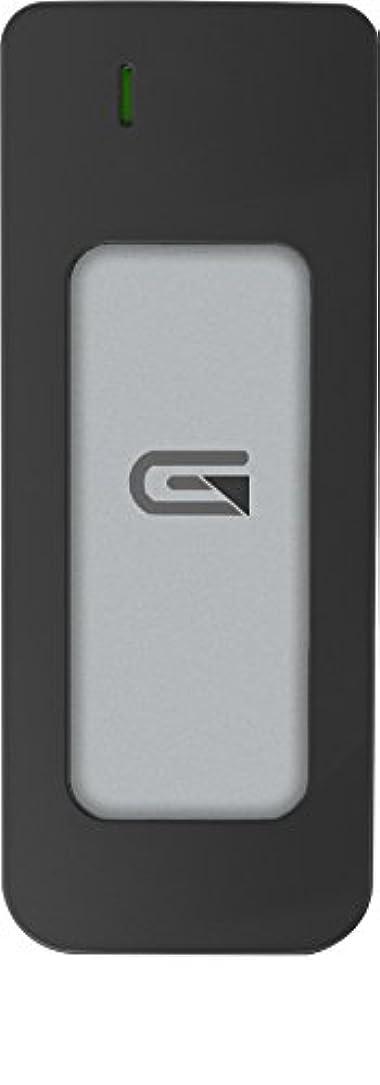 通行料金反発ガチョウGlyph Atom SSD   525 GB SSD with USB C 3.0 Thunderbolt 3シルバー