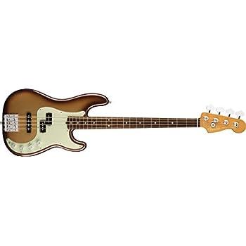 Fender エレキベース American Ultra Precision Bass®, Rosewood Fingerboard, Mocha Burst