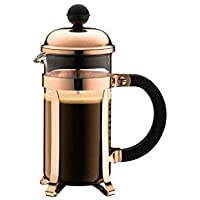 Bodum Chambord Coffee Maker, Copper - 3 Cup - 0.35 L, 12 Oz [並行輸入品]
