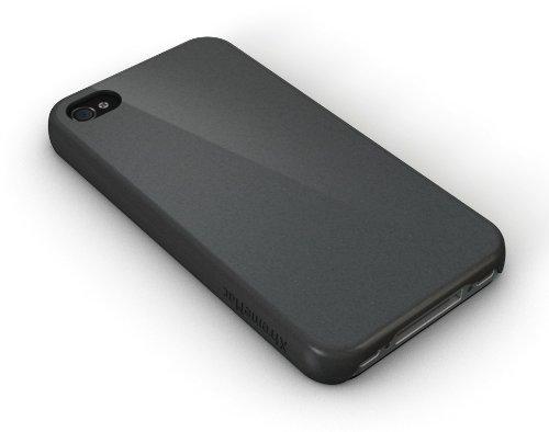 XtremeMac iPhone4/4S用 マイクロシールドシリーズ 薄型ハードケース グラファイトグレー IPP-MS5-83