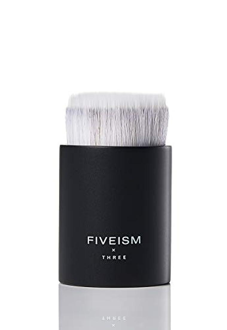 一緒に破滅的な一杯FIVEISM × THREE(ファイブイズム バイ スリー) ロッキン ラウンド ブラシファンデーションブラシ