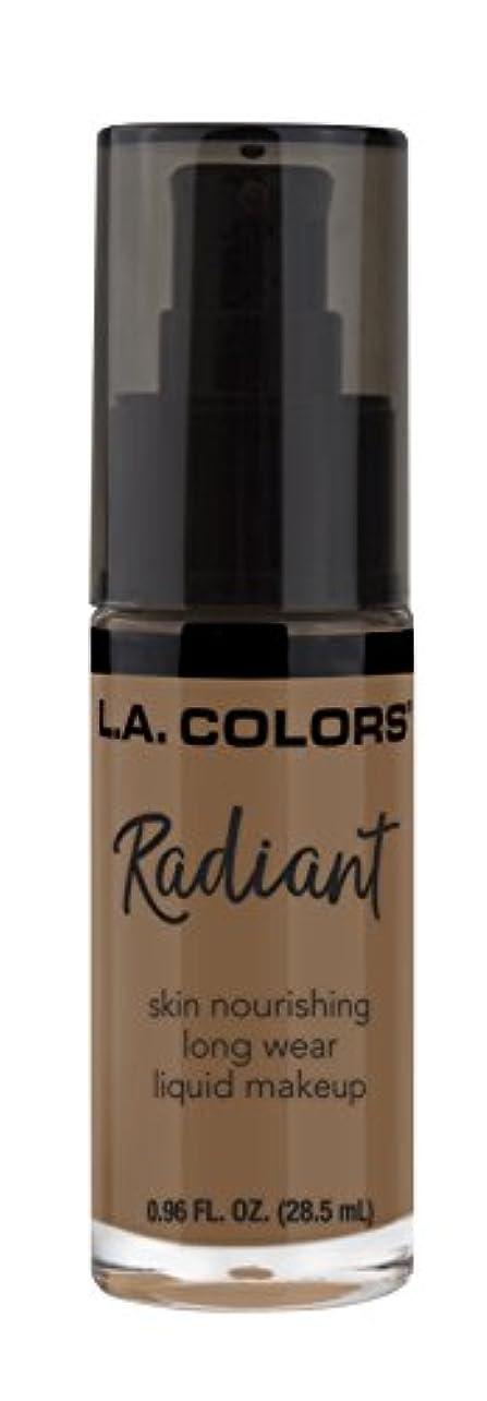 呼吸するオーガニックふざけたL.A. COLORS Radiant Liquid Makeup - Mocha (並行輸入品)
