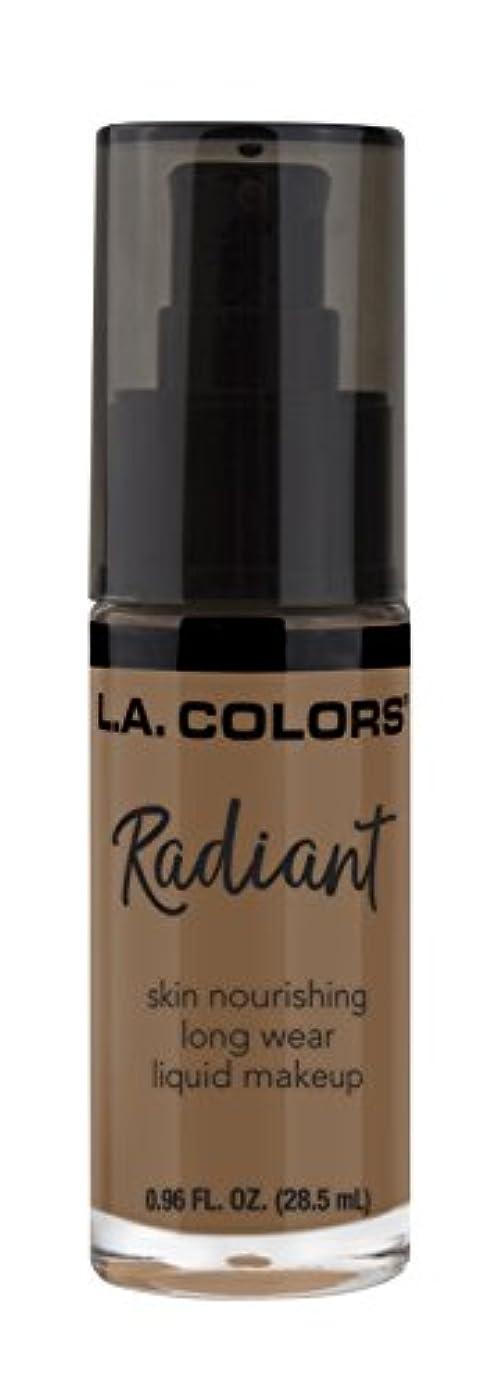 めったに電気陽性原子L.A. COLORS Radiant Liquid Makeup - Mocha (並行輸入品)