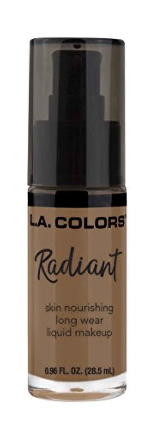 L.A. COLORS Radiant Liquid Makeup - Mocha (並行輸入品)
