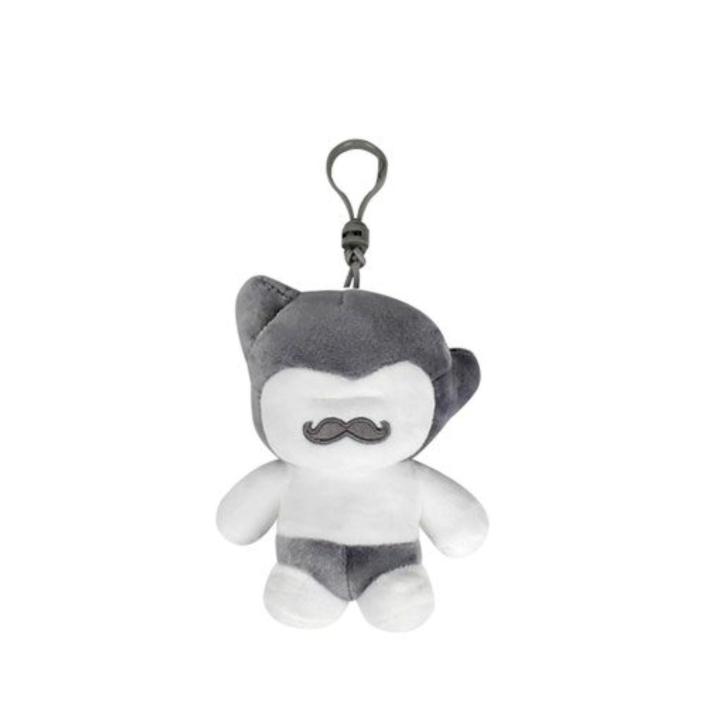 Mustro Boy Toy - Bag ring 12cm Grey