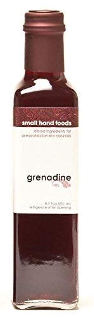 周囲邪魔絶えずSMALL HAND FOODS Grenadine Syrup 250 ml [並行輸入品]