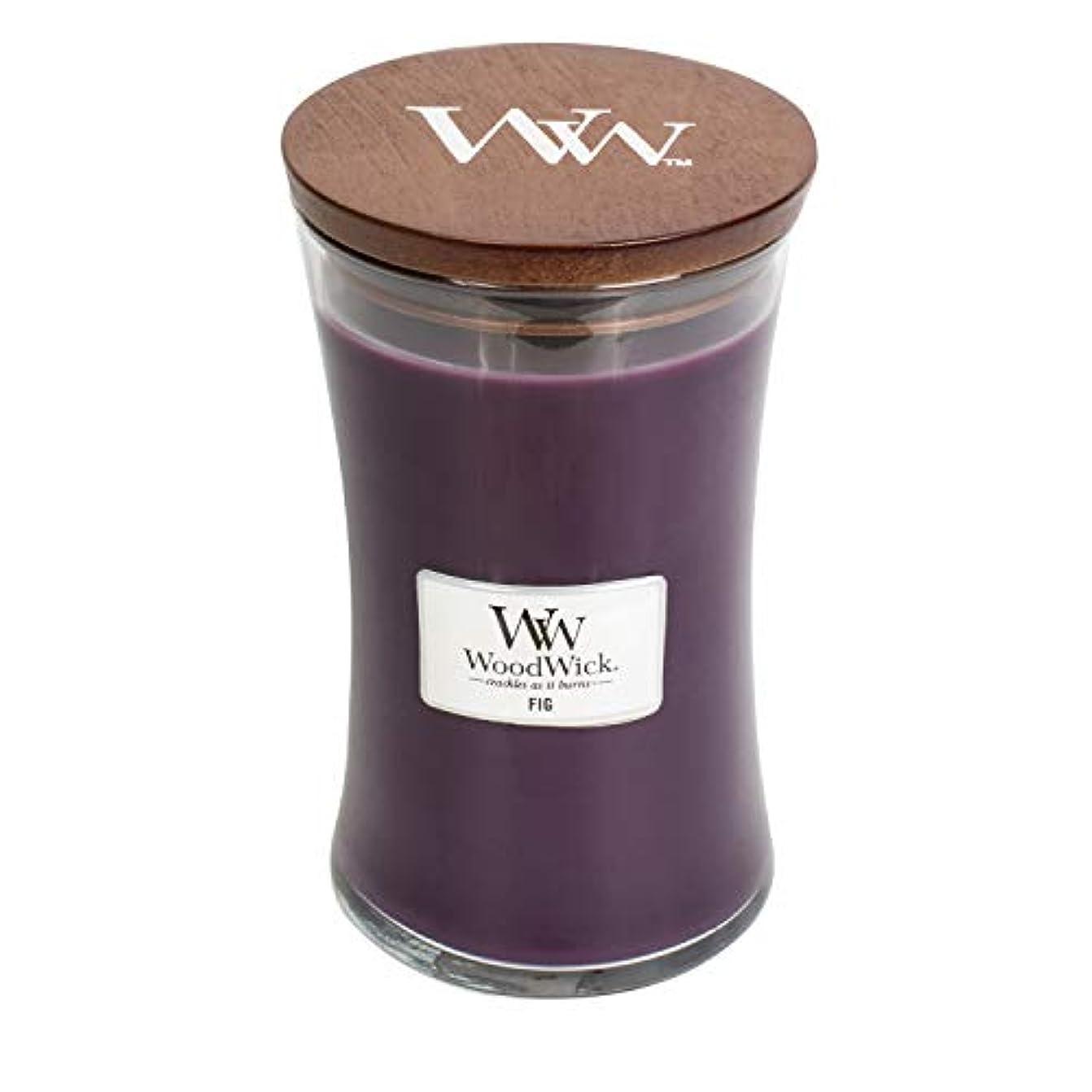 農業バイオレットバイナリソフトCambray WoodWick 22oz香りつきJar Candle Burns 180時間