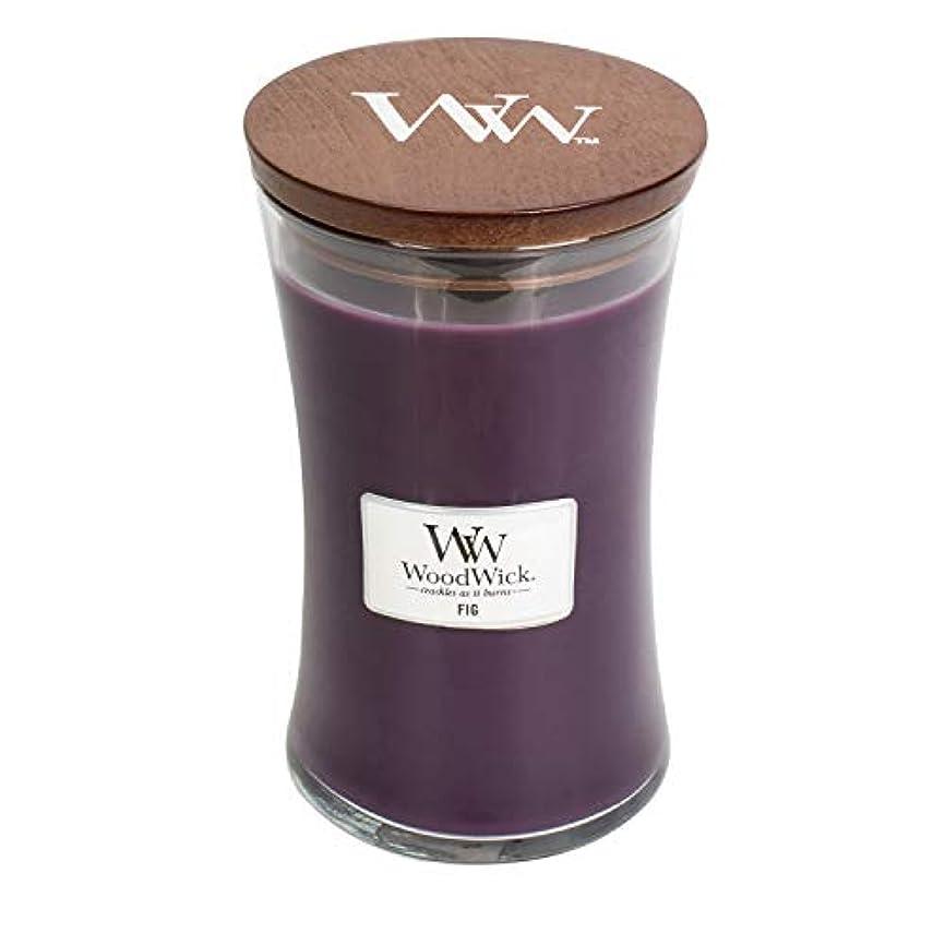 人間圧縮されたビスケットソフトCambray WoodWick 22oz香りつきJar Candle Burns 180時間