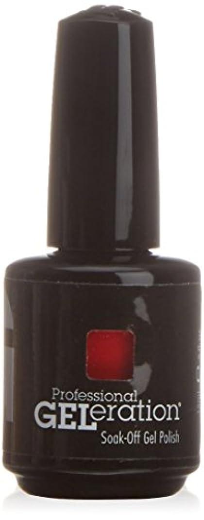 名前を作るゆりひばりジェレレーションカラー GELERATION COLOURS 997 フレーミング 15ml UV/LED対応 ソークオフジェル