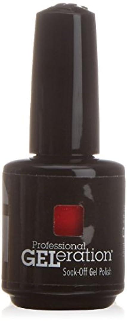フィドル本能反乱ジェレレーションカラー GELERATION COLOURS 997 フレーミング 15ml UV/LED対応 ソークオフジェル