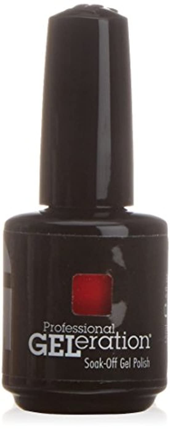 知的ペレグリネーションフィットネスジェレレーションカラー GELERATION COLOURS 997 フレーミング 15ml UV/LED対応 ソークオフジェル