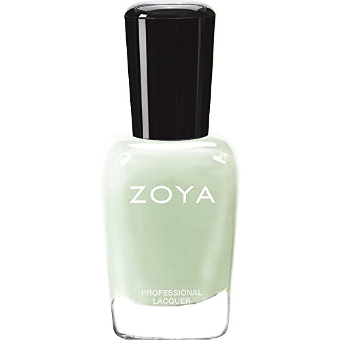 ZOYA ゾーヤ ネイルカラー ZP655 NEELY ニーリィ 15ml  2012 LOVELY COLLECTION 淡いパステルグリーン マット 爪にやさしいネイルラッカーマニキュア