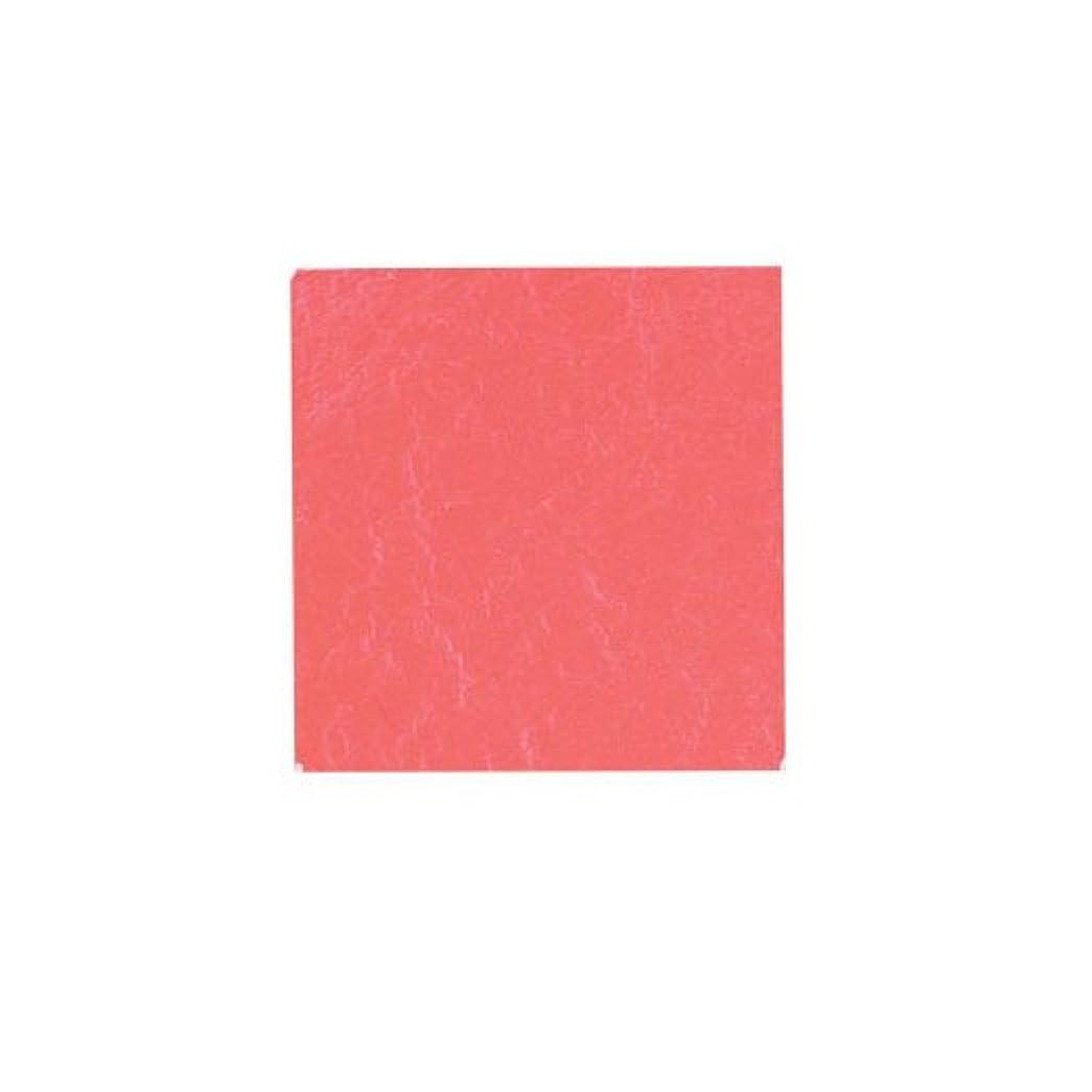 スロー支給あざピカエース ネイル用パウダー カラー純銀箔 #608 薔薇色 3.5㎜角×5枚