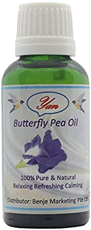 yan 100% Pure and Natural Butterfly Pea Oil
