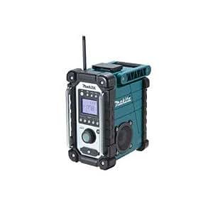マキタ 充電式ラジオ 青 本体のみ MR102