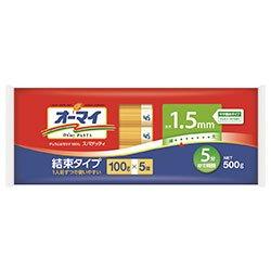 日本製粉 オーマイ スパゲッティ1.5mm結束タイプ 500g×20袋入×(2ケース)