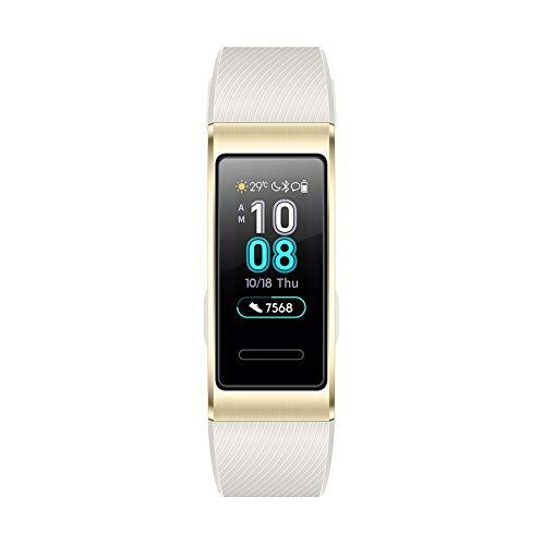 Huawei Band 3 Pro/ゴールド スマートウォッチ ※GPS内蔵 0.95インチ 約25g 自動心拍計測 通常時約10日間使...