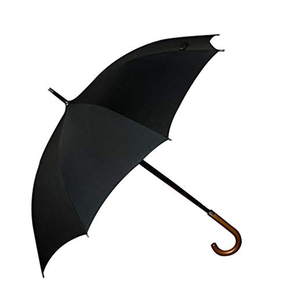 タイムリーな重大フロント日傘、自動開閉開閉トラベル傘強化換気と防風フレームポータブルコンパクト折りたたみ式軽量設計と高風抵抗(ブラック) (Color : Black, Size : L)
