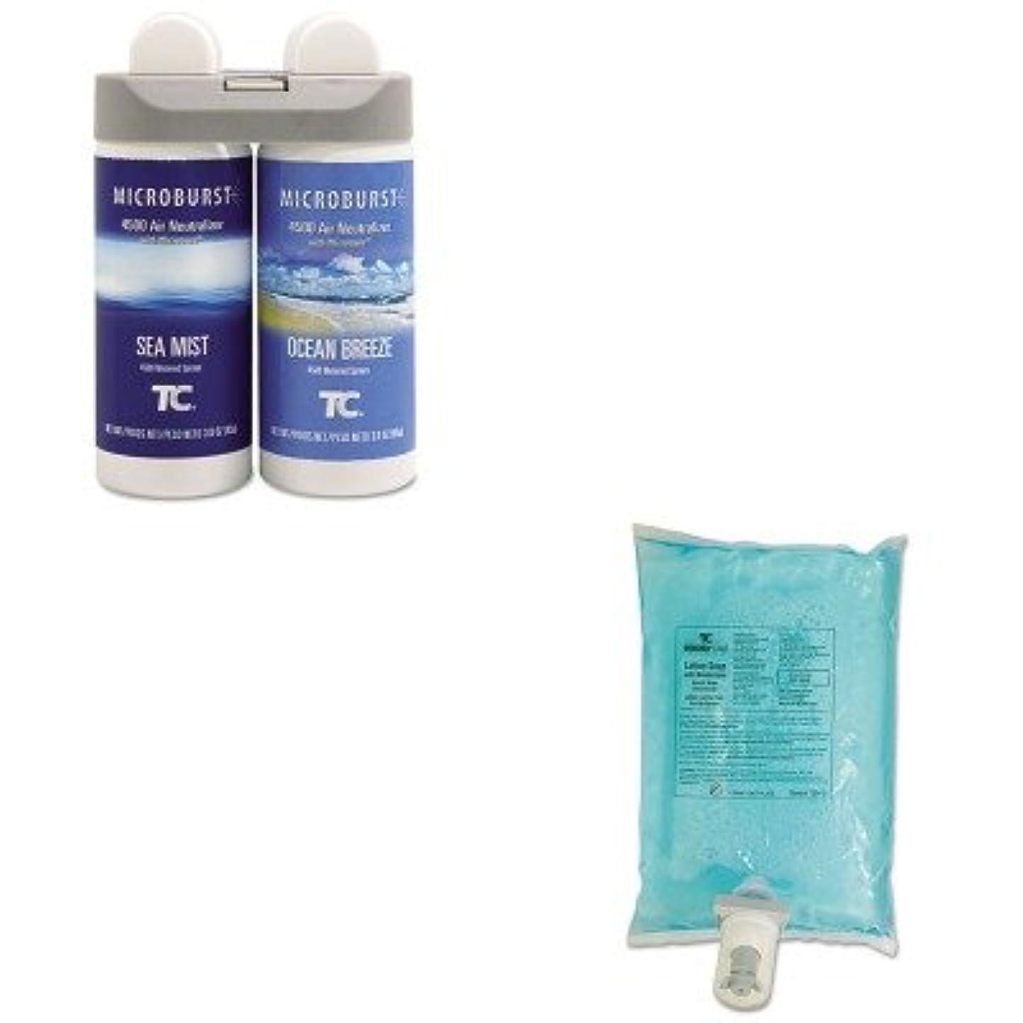 燃やすサイズ沿ってkitrcp3485951rcp750112 – Valueキット – Rubbermaid Microburst Duet Refills ( rcp3485951 )とRubbermaid AutoFoam Hand...