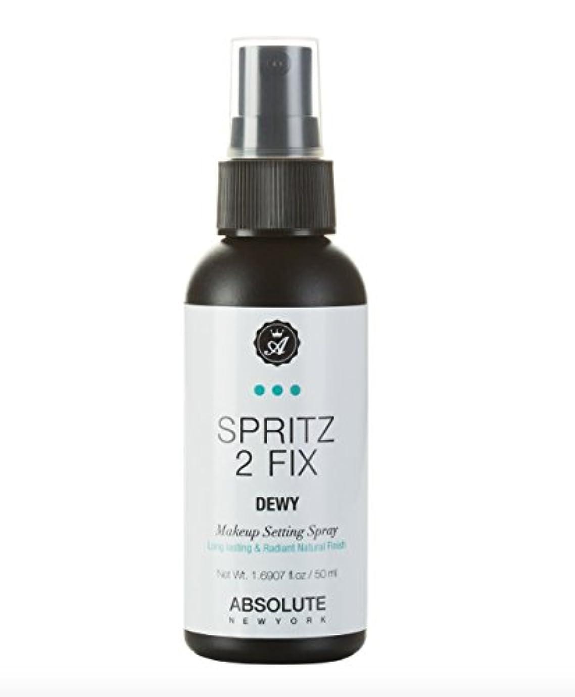 思想骨圧縮するABSOLUTE Spritz 2 Fix Spray - Dewy (並行輸入品)