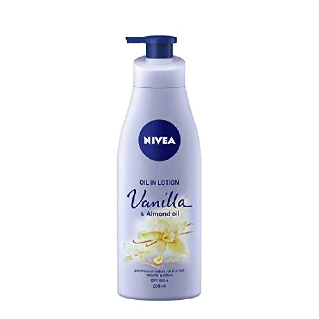 変位元のランダムNIVEA Oil in Lotion, Vanilla and Almond Oil, 200ml