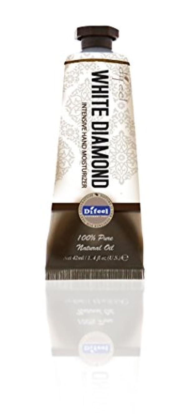 キャスト棚偏差Difeel(ディフィール) ホワイトダイアモンド ナチュラル ハンドクリーム 40g オリエンタルな香り WHITE DIAMOND 17WDMn New York