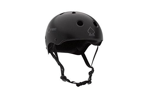 PRO-TEC(プロテック) CLASSIC SKATE(クラシックスケート) ヘルメットMATTE BLACKカラー 【正規輸入品】 XLサイズ 13691 XLサイズ