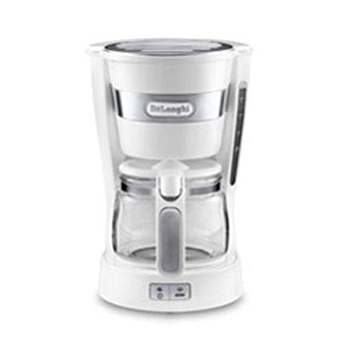 デロンギ コーヒーメーカー トゥルーホワイトDeLonghi アクティブ シリーズ ICM14011J-W