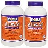 [海外直送品] NOW Foods   お得サイズ   アダム メンズマルチビタミン 180粒