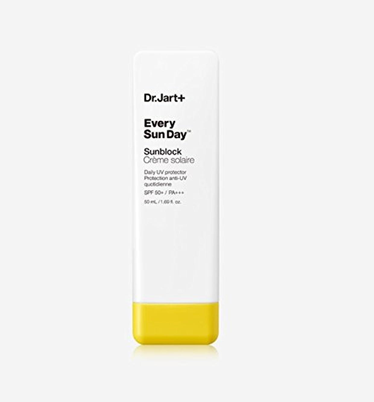 排泄物一生クレーター[Dr.Jart+] NEW ドクタージャルト エヴリ サンデー サンブロック 50ml スキントーン クリーム タイプ SPF50+ PA+++ / NEW Every Sun Day Sunblock [並行輸入品]