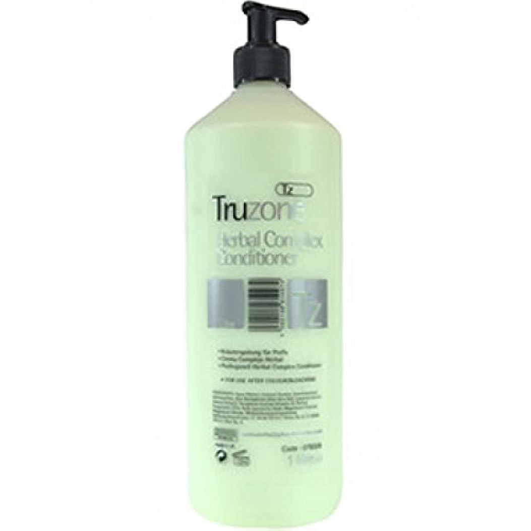 ポジション悪名高い側溝Truzone Herbal Complex Conditioner by Professional Hair Care