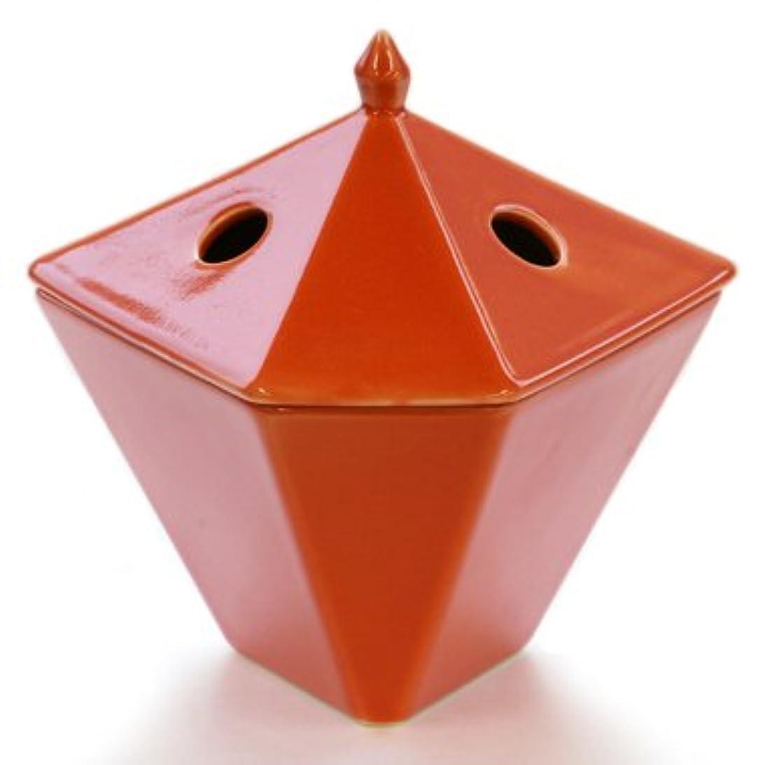 泣き叫ぶ放射するストレージ縁香炉 橙